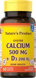 Oyster Calcium 500 mg + D3 2000 IU