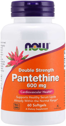 Pantethine 600mg 60 Softgels
