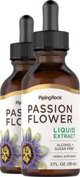 Flüssigextrakt aus Passionsblumen, alkoholfrei 2 fl oz (59 mL) Tropfflasche