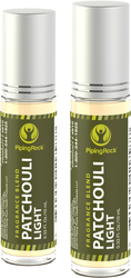 Patchouli Light Essential Oil Roll-on Blend 2 Roll-On Bottles x 10 ml (0.33 fl oz)