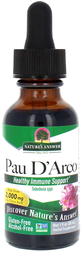 Pau D'Arco Liquid Extract Alcohol Free, 1 fl oz