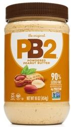 PB2 Erdnussbutter aus gemahlenen Erdnüssen 16 oz (453.6 g) Glas