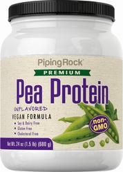 Serbuk Protein Kacang Pis (Bukan GMO) 24 oz (680 g) Botol