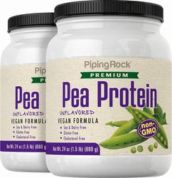 Erbsen-Proteinpulver (Nicht-GVO) 24 oz (680 g) Flasche