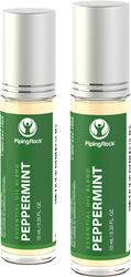 Peppermint Essential Oil Roll-On Blend 2 x 10 mL (0.33 fl oz)