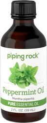 Óleo essencial puro de hortelã-pimenta 2 fl oz (59 mL) Frasco