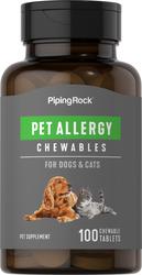 Alergi Haiwan bagi Anjing & Kucing 100 Tablet Boleh Kunyah