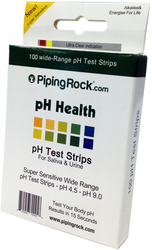 Buy PH Test Strips for Saliva and Urine 100 Test Strips