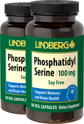 Phosphatidylsérine (sans soja) 60 Gélules végétales