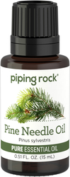 Pine Needle Pure Essential Oil (GC/MS Tested), 1/2 oz (15 ml) Dropper Bottle