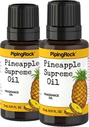 Pineapple Supreme Fragrance Oil 2 x 1/2 oz (15 ml)