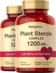 Complexe de stéroïdes de plantesavec Béta Sitosterol 1200 mg (par dose) 120 Gélules à libération rapide