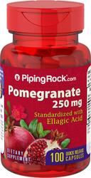 Granaatappelextract (gestandaardiseerd) 100 Snel afgevende capsules