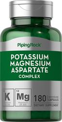 Complexe d'aspartate de magnésium potassium 180 Gélules à libération rapide