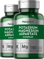 Kalium-Magnesium-Aspartat-Komplex 180 Kapseln mit schneller Freisetzung