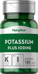 Potassium Plus Iodine 180 Tablets