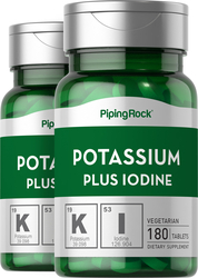 Potasio y yodo 180 Tabletas