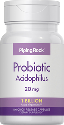Probiotic Acidophilus 1 Billion Active Organisms, 100 Capsules