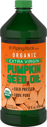 Buy Organic Pumpkin Seed Oil 16 fl oz (473 mL)