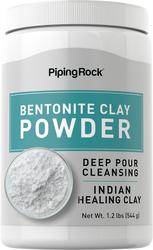 Poudre d'argile de bentonite pure  1.2 lbs (544 g) Bouteille