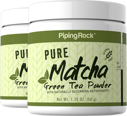 Pure Matcha Tea 2 x 50 Grams (1.76 oz) Jar