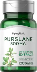 Purslane 500 mg 100 Capsules