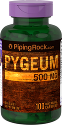 Buy Pygeum 500mg 100 Supplement Capsules