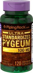 Pygeum Africanum Standardized 100mg 120 Supplement Capsules