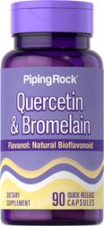 Quercetine plus bromelaïne 90 Snel afgevende capsules