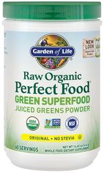 Raw Organic Perfect Food Green Superfood Powder