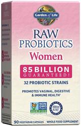 Raw Probiotics Women (Probiotik Wanita Mentah) 90 Kapsul Vegetarian