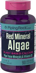 Buy Red Mineral Algae (Aquamin Plant Based Calcium) 90 Capsules