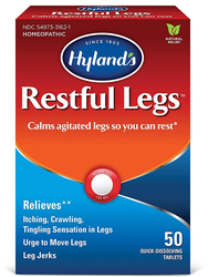 Restful Legs Homeopathic, 50 Tablets
