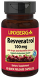 Resveratrol 100 mg, 60 Capsules