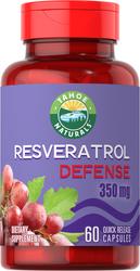 Resveratrol 350 mg Supplement 60 Capsules
