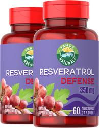 Resveratrol  60 Cápsulas de Rápida Absorção