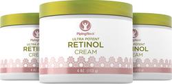 Crème au rétinol (Crème à la vitamine A surpuissante) 4 oz (113 g) Bocal