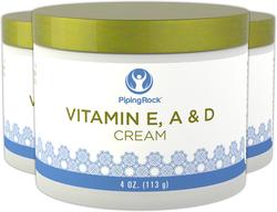 Crema revitalizzante alla vitamina E, A e D 4 oz (113 g) Vaso