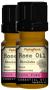 Rose Absolute 100% Pure Essential Oil 2 Dropper Bottles x 5 ml (0.17 fl oz)