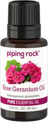 Rose Geranium Essential Oil 1/2 oz (15 ml) Dropper Bottle