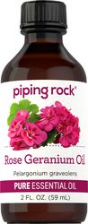 Rose Geranium Pure Essential Oil (GC/MS Tested), 2 fl oz