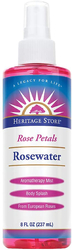 Rosenwasser aus Rosenblütenblättern 8 fl oz (237 mL) Flasche