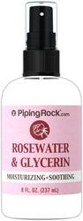 Água de rosas e glicerina 8 fl oz (237 mL) Frasco pulverizador