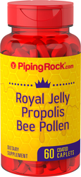 Royal Jelly Propolis & Bee Pollen 60 Coated Caplets