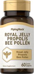 Gelée royale, propolis et pollen d'abeille 60 Petits comprimés enrobés