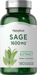 Sage 1600 mg Supplement 180 Capsules