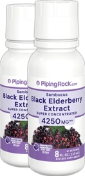 Sambucus Black Elderberry Extract 8 fl oz x 2 Bottles