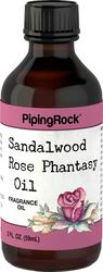 Geurolie met sandelhout- en rozenfantasie 2 fl oz (59 mL) Druppelfles