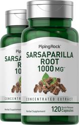 Sarsaparilla Root, 1000 mg, 2 x 120 Capsules