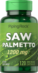 Saw Palmetto 1200mg 120 Capsules